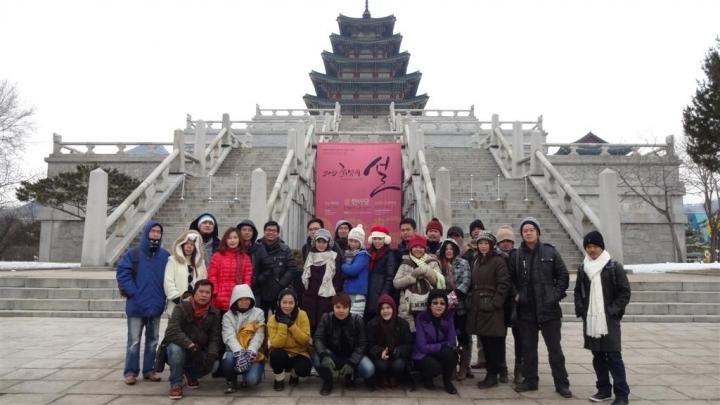 WICE Team Champion holds Wonderful Korea Trip