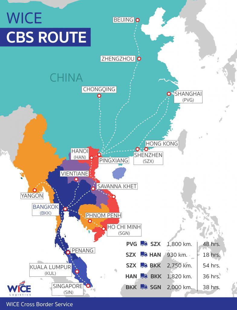 WICE CBS route